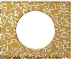 Рамка Legrand Celiane 1 пост фарфор Золотая Феерия (арт.069331)