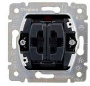 Выключатель двойной с индикацией Galea Life (арт.775845)