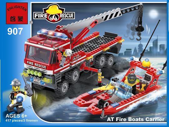 Конструктор Пожарная техника