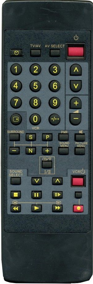 Пульт для Panasonic EUR50700 (43кн) (TV,VCR)  (TC-26V2H, TC-29V2)