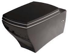 Унитаз 36х54 (цвет черный)  ArtCeram JAZZ, JZ01C подвесной с набором крепежей.