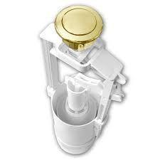Механизм слива Azzurra B19002FORO/40  в комплекте с кнопкой двойного слива 3/6л для бачка (золото)