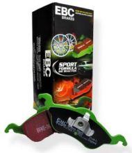 Тормозные колодки EBC, серия Greenstuff, задние, к-кт на седан 2.4л
