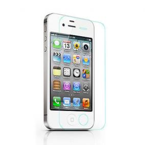 Закаленное противоударное стекло для iPhone 4