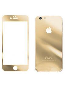 Закаленное противоударное цветное стекло для iPhone 4 (2 стороны)