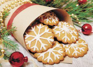 Почтовая открытка Имбирное печенье