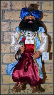 Чешская кукла-марионетка Султан  - Sultán (Чехия, Praha, Hand Made, авторы  Ивета и Павел Новотные)