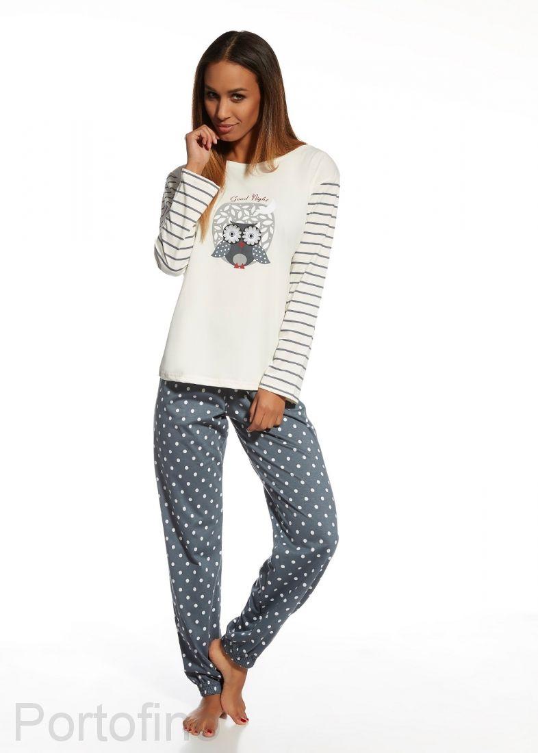 685-104 женская пижама футболка и брюки Cornette