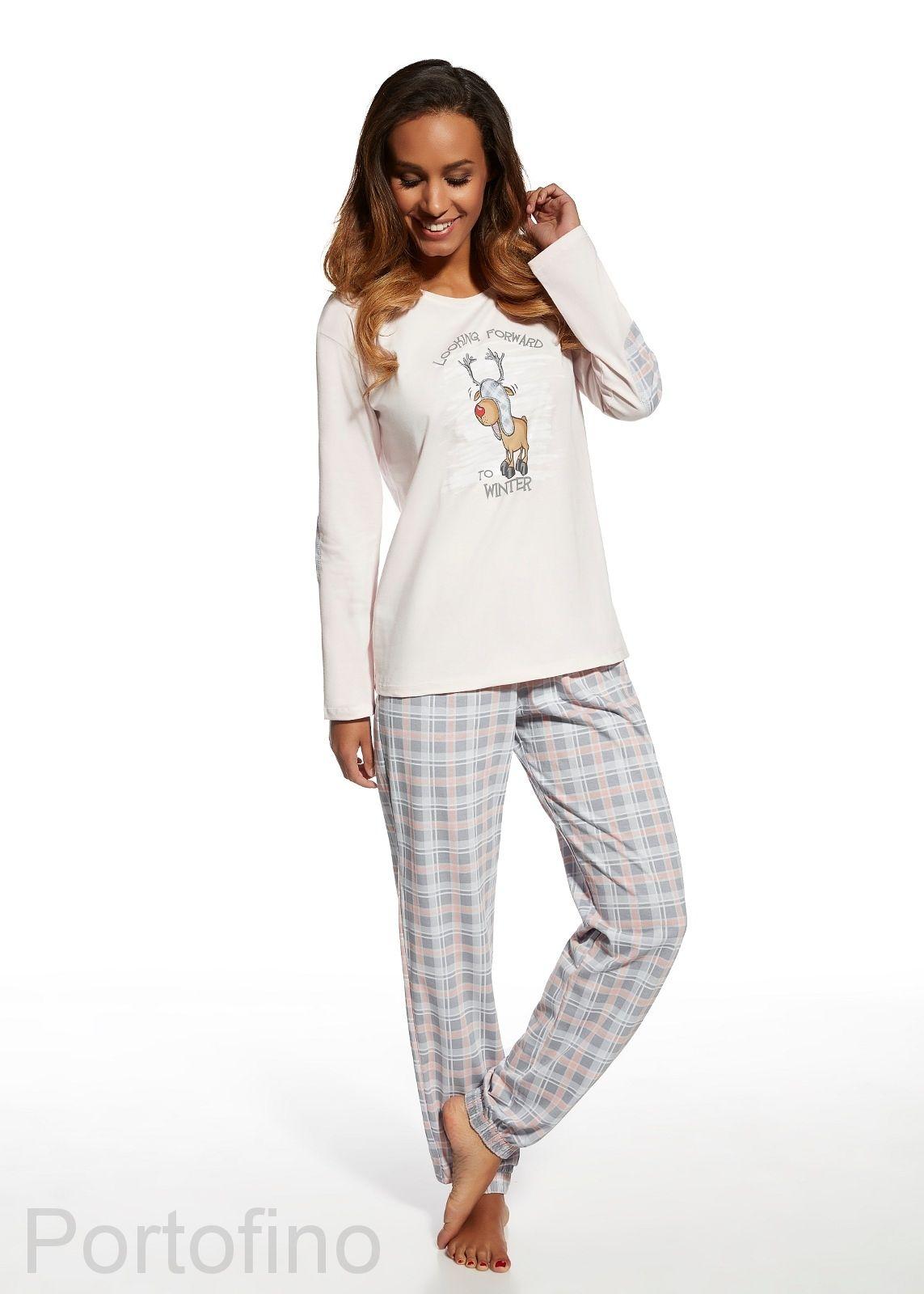 cc16cbc710d9 685-98 женская пижама с красивыми брюками и футболкой Cornette.купить в  Москве