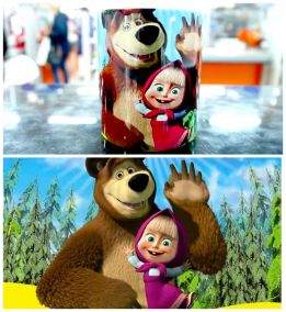 Кружка Маша и Медведь