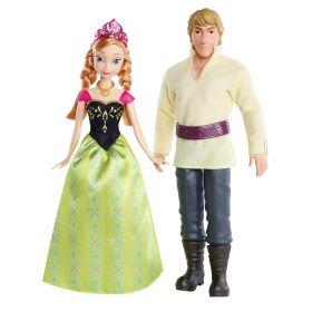 Набор кукол Анна и Кристофф (Anna&Kristoff), серия Холодное сердце, DISNEY
