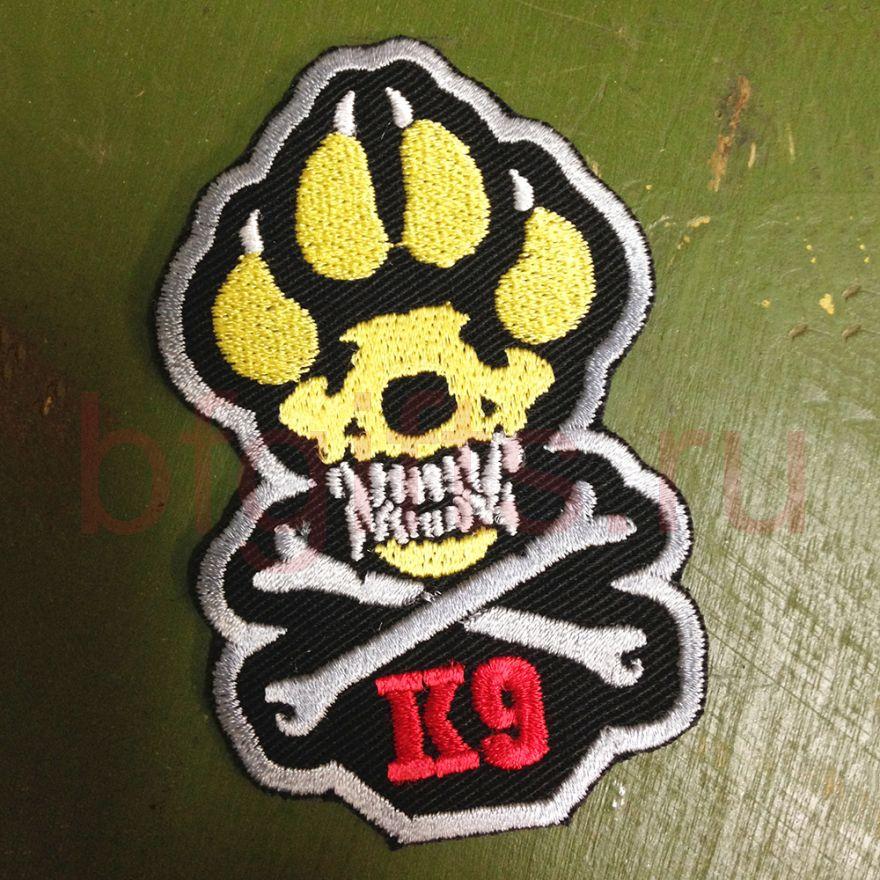 Вышитая эмблема подразделения К-9
