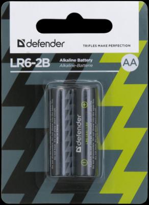 Распродажа!!! Батарейка алкалиновая LR6-2B AA, в блистере 2 шт