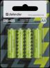 Распродажа!!! Батарейка солевая R6-4B AA, в блистере 4 шт