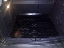 Коврик (поддон) в багажник, Aileron, черный для 2WD