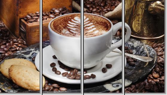 Модульная картина Чашка кофе