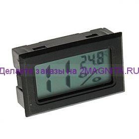 Термометр с влажностью HT-2 черный