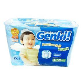 [Новая коллекция сентябрь 2016] GENKI Трусики для мальчиков и девочек L (9-14 кг) 30шт