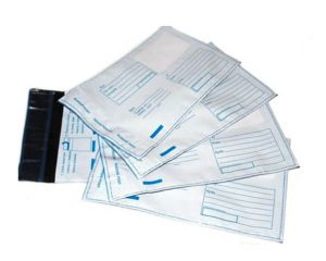 `Пластиковый пакет с логотипом Почта России (280 х 380 мм)