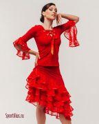комплект красный флоранс
