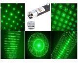 Зеленая лазерная указка Green Laser Pointer 500 mW + 5 насадок