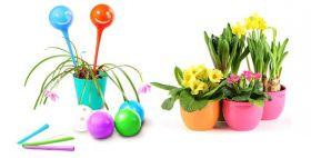 Колбы для автоматического полива цветов Плант Джини (Plant Genie) (6 штук)