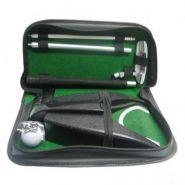 Набор для гольфа Partida lac-1014 c автоматической лузой в кожаном кейсе