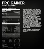 Optimum Nutrition Pro Gainer (2,22 kg) состав