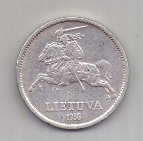 10 лит 1936 г. Литва