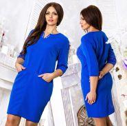 Трикотажное платье Моника