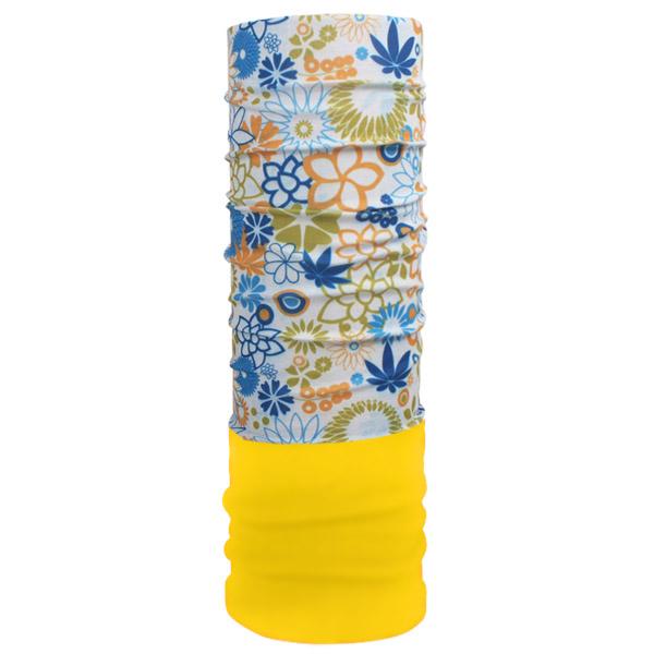 Мультишарф  с цветочным принтом