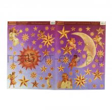 Декупажные карты 33х48 Солнце, луна и звезды В8031