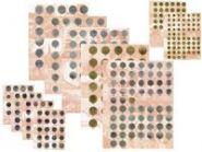 Комплект разделителей для коллекции юбилейных и разменных монет СССР 1961-1991гг