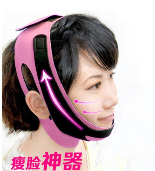 Маска-бандаж для подтяжки и коррекции овала лица 3D лифтинг эффект