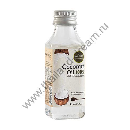 Кокосовое масло холодного отжима Phutawan 100мл