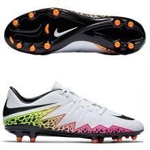 Бутсы Nike Hypervenom Phelon II FG белые