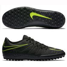 Шиповки-сороконожки Nike Hypervenom Phelon II TF чёрные