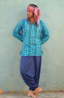 Мужские индийские рубашки, хлопок, интернет-магазин (СПб), символ ом