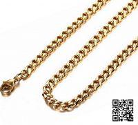 Тонкая цепочка панцирного плетения