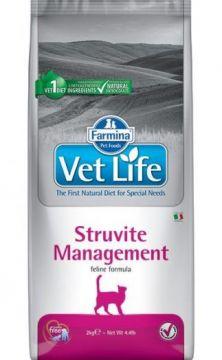 Vet Life Cat Struvite Management (Рецидивы мочекаменной болезни; идиопатический цистит.)