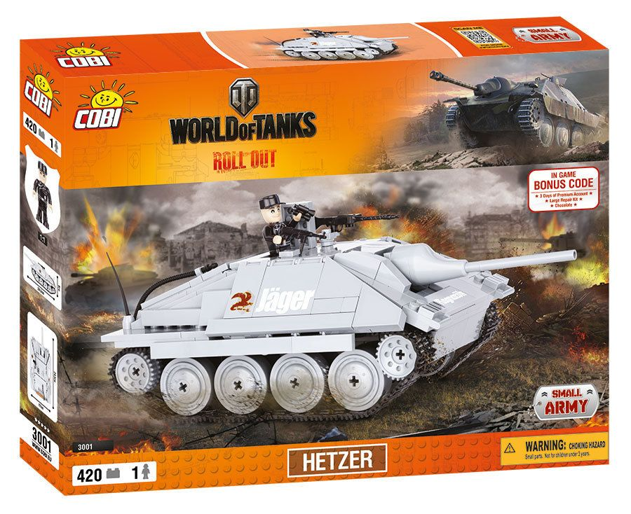 КОБИ World of Tanks - Танк Hetzer COBI-3001