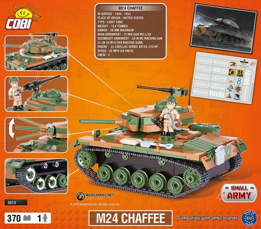 КОБИ World of Tanks - Танк M24 Chaffee COBI-3013
