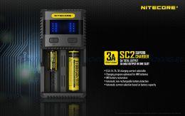 Зарядное устройство Nitecore SC2 V2