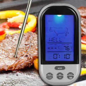 Беспроводной термометр для гриля и печи с дистанционным управлением