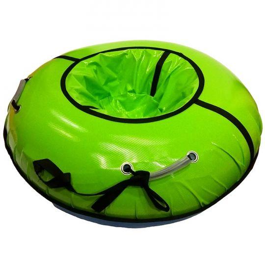 Тюбинг 120см Профи с пластиковым дном, салатовый