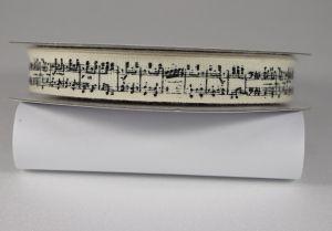 Лента хлопковая с рисунком, ширина 13 мм, рулон 20 ярдов = 18 метров