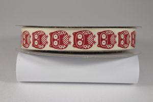 `Лента хлопковая с рисунком, ширина 16 мм, Арт. Р-ХЛР-P13679