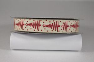 `Лента хлопковая с рисунком, ширина 16 мм, Арт. Р-ХЛР-P13671