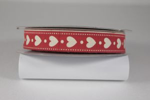 `Лента хлопковая с рисунком, ширина 16 мм, Арт. Р-ХЛР-P13662