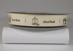`Лента хлопковая с рисунком, ширина 16 мм, Арт. Р-ХЛР-SP821